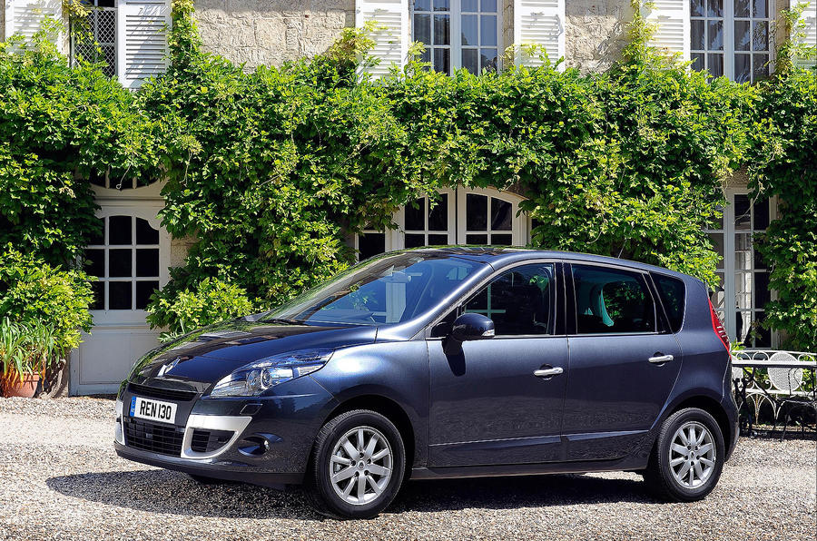 Five-seat Renault Scenic
