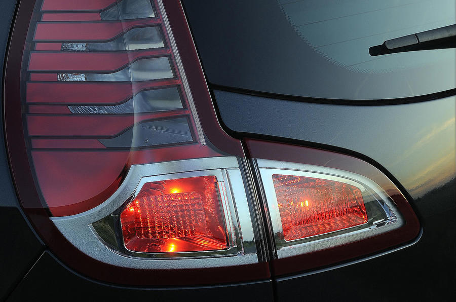 Renault Scenic rear lights