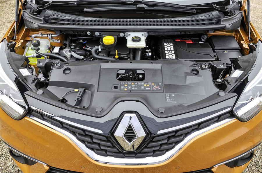 1.5-litre dCi Renault Scenic diesel engine