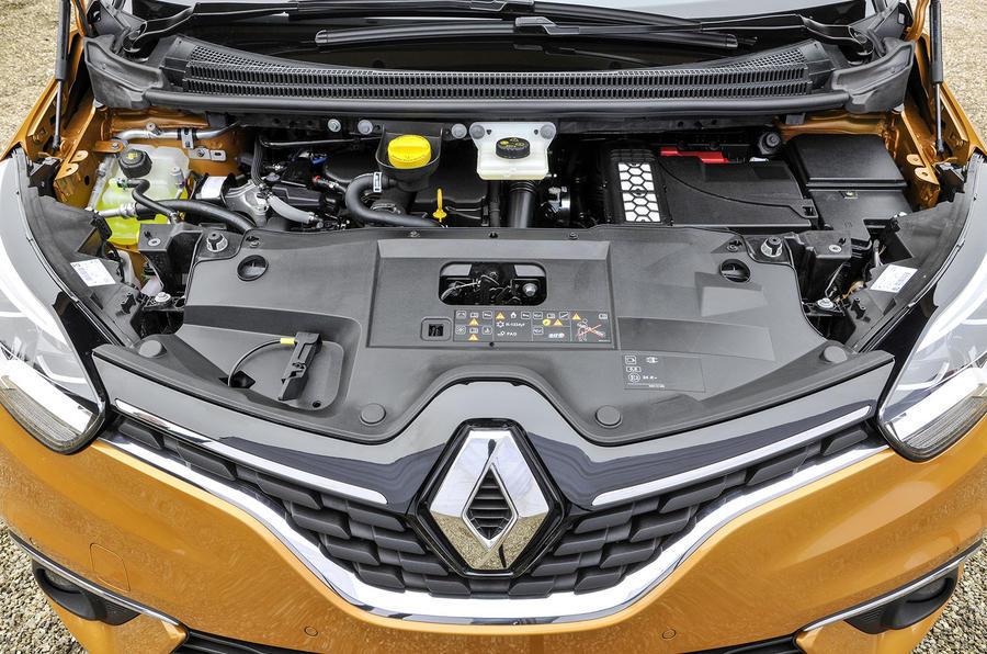 1.5-litre dCi Renault Scenic diesel engine
