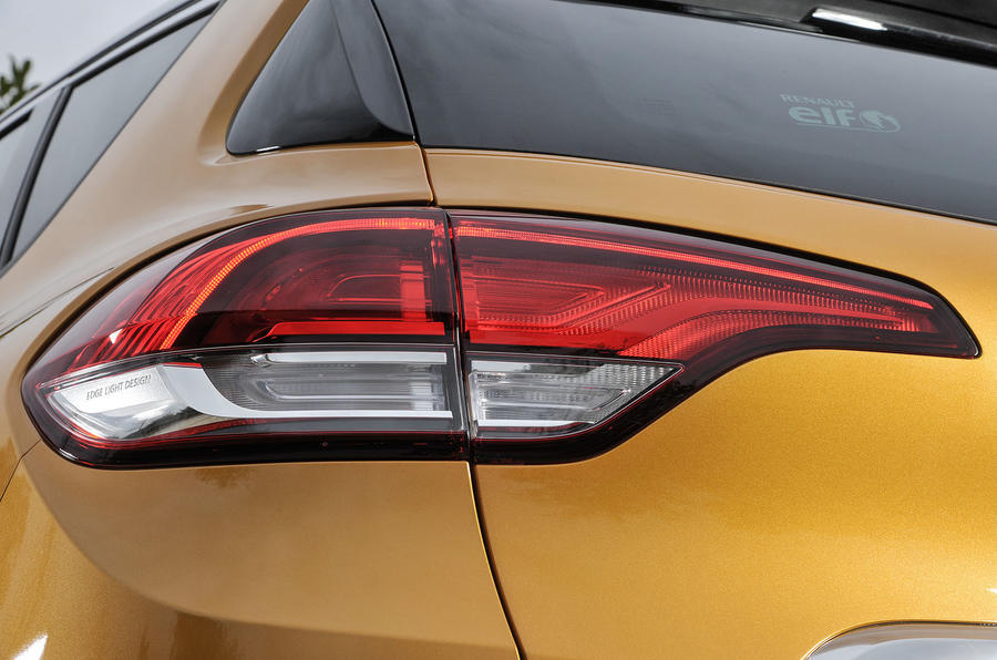 Renault Scenic rear lights