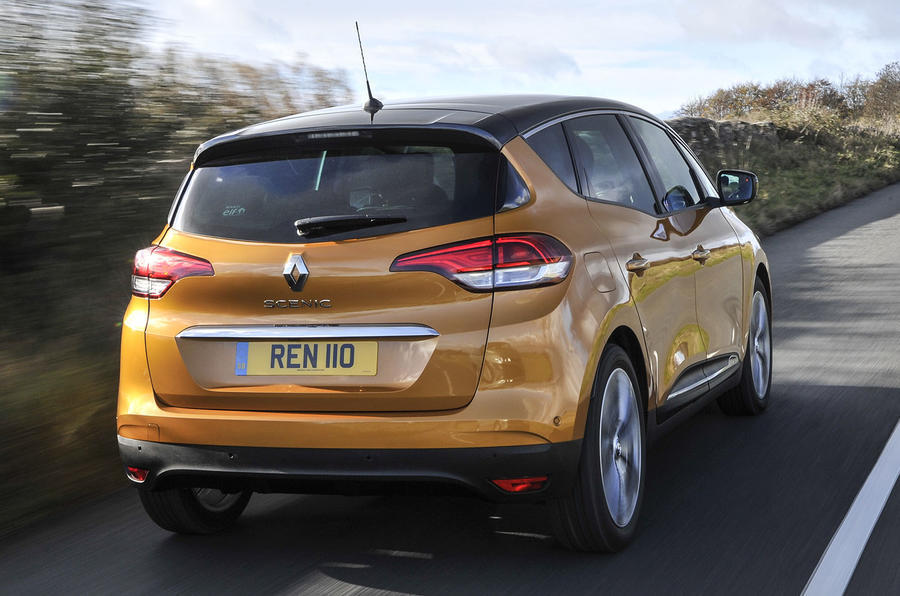 Renault Scenic rear