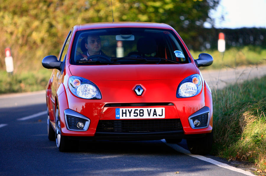 Renault Twingo RS133 front end
