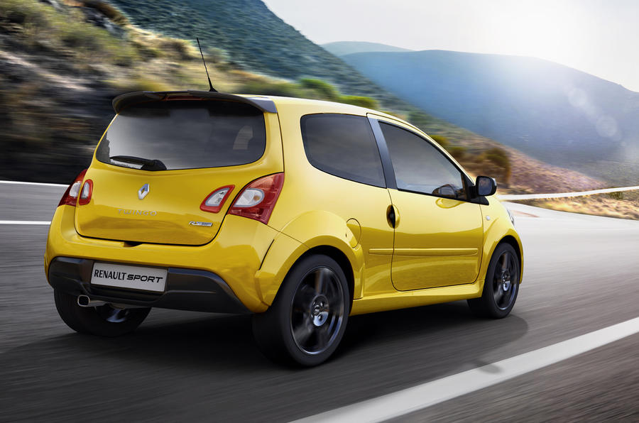 Facelifted Twingo RS: on sale April