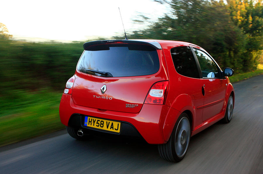 Renault Twingo RS133 rear quarter
