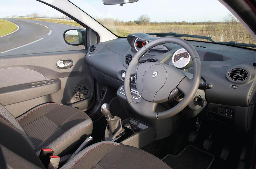 Renault Twingo interior