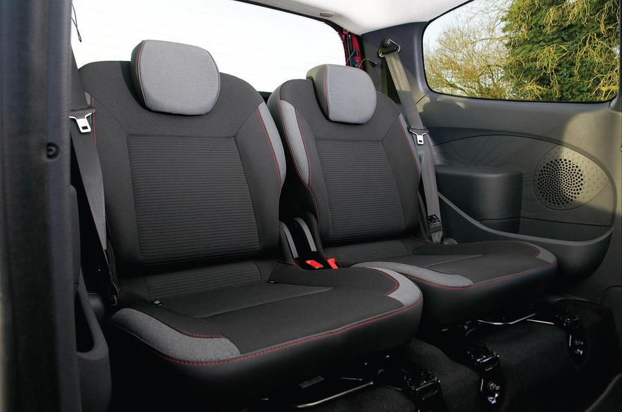 Renault Twingo rear seats