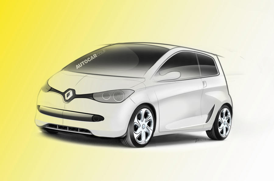 Renault city car to be rear-drive