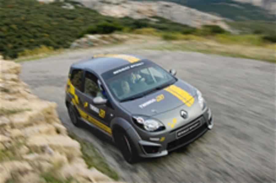 Renault launches Twingo rally car