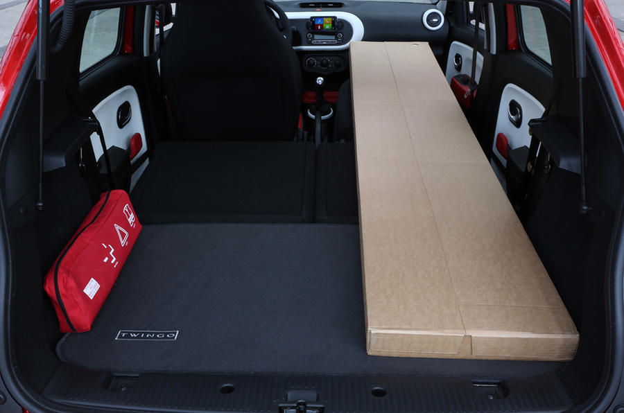 Renault Twingo extended boot space