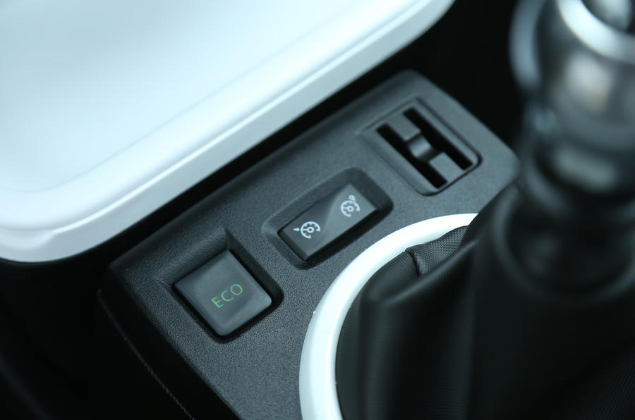Renault Twingo cruise control