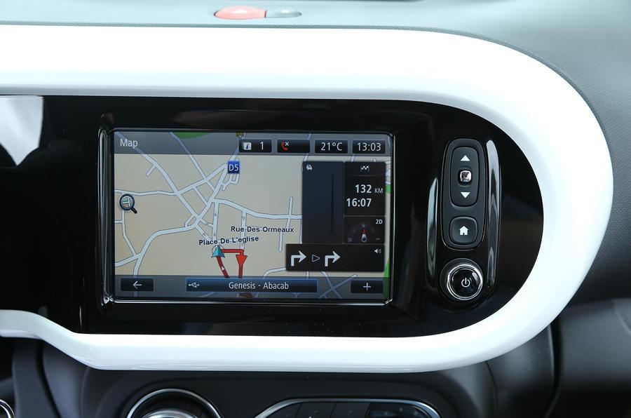 Renault Twingo TCe 90 infotainment