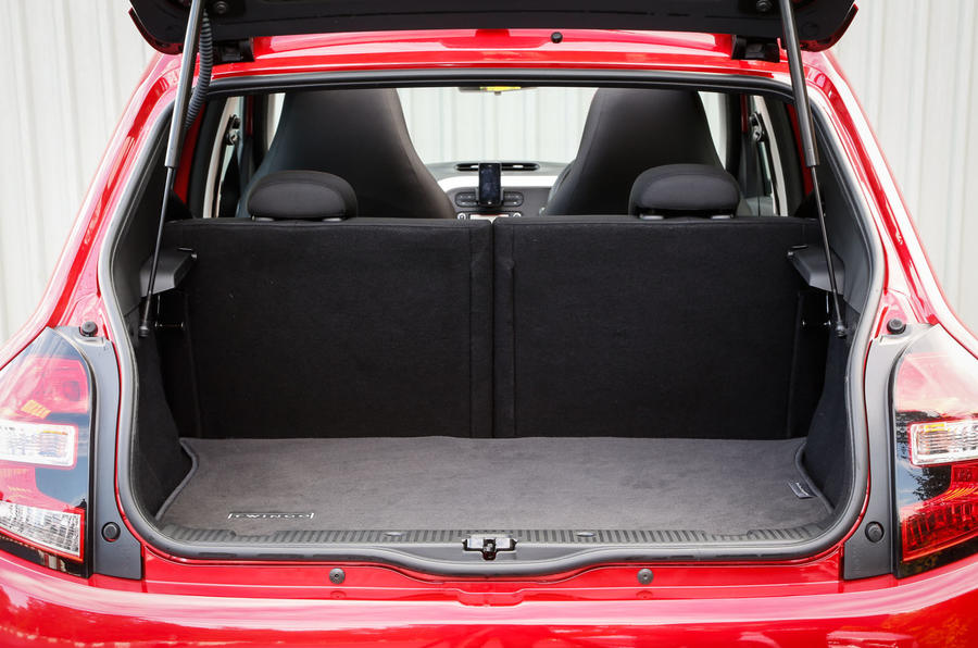 Renault Twingo boot space
