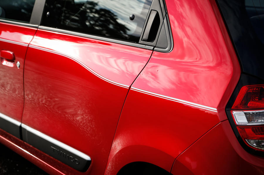 Renault Twingo rear doors