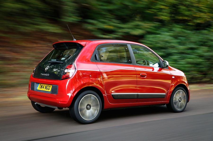 Renault Twingo rear quarter
