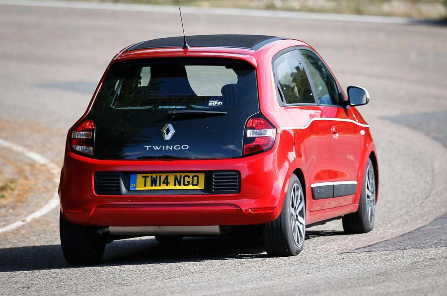 Renault Twingo rear conrering