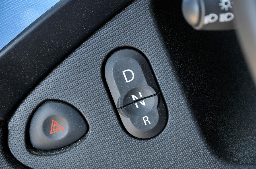 Renault Twizy drive modes
