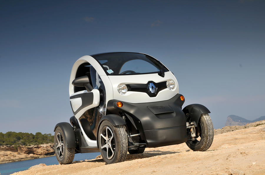 Renault Twizt off-roading