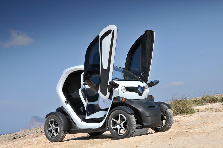 3 star Renault Twizy