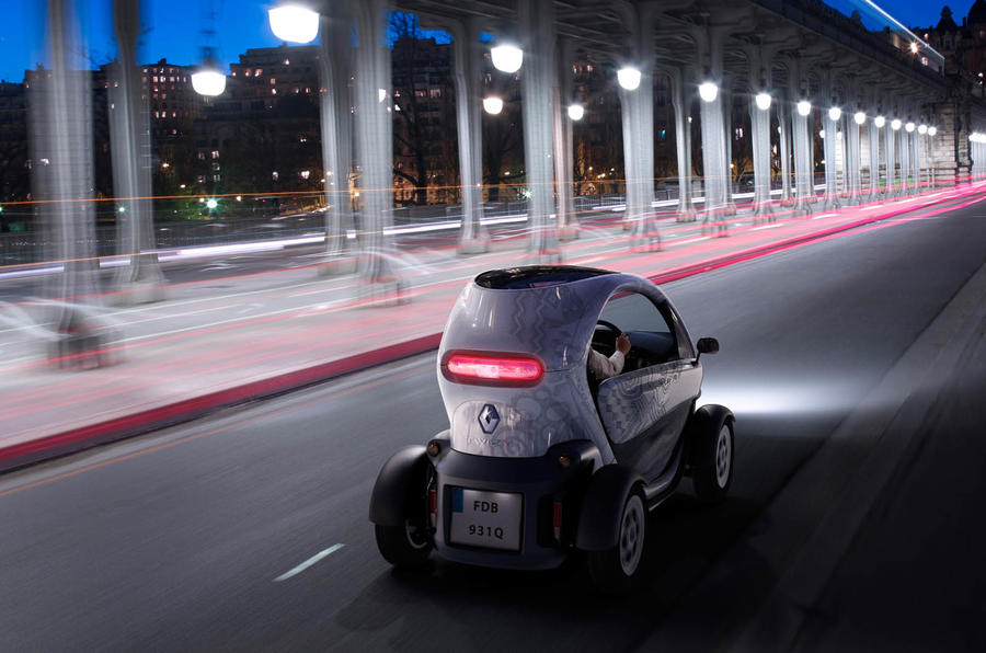 Paris motor show: Renault Twizy