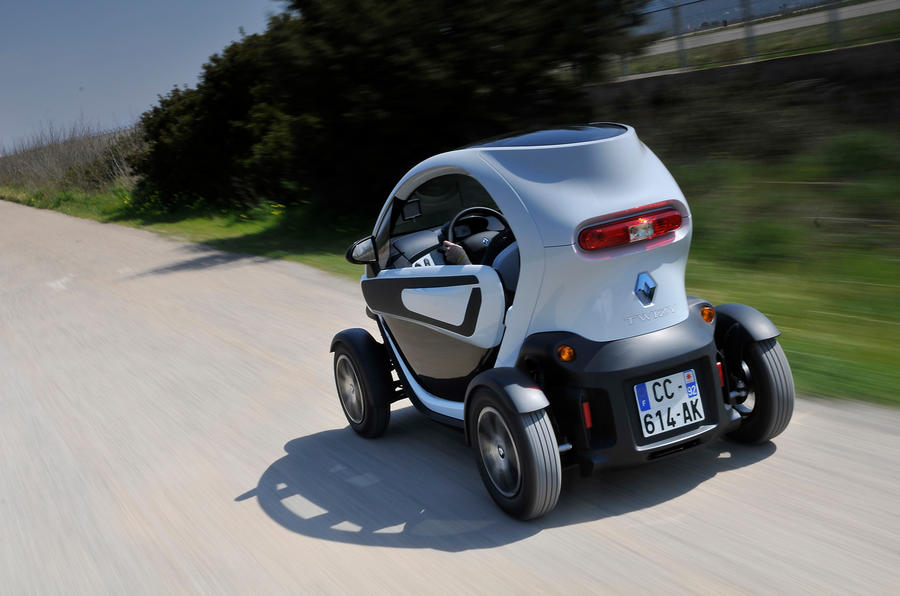 Renault Twizy rear quarter