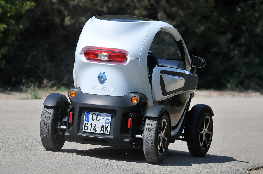 renault twizy review 2019 autocar. Black Bedroom Furniture Sets. Home Design Ideas