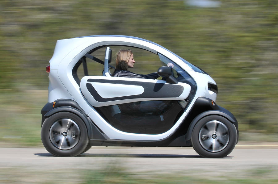 Fully-electric Renault Twizy