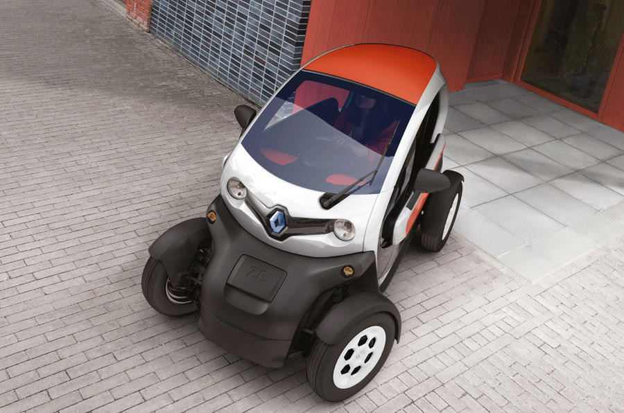 More options for Renault Twizy