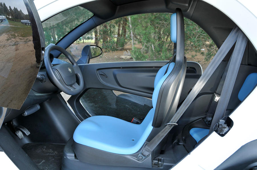 Renault Twizy front seat