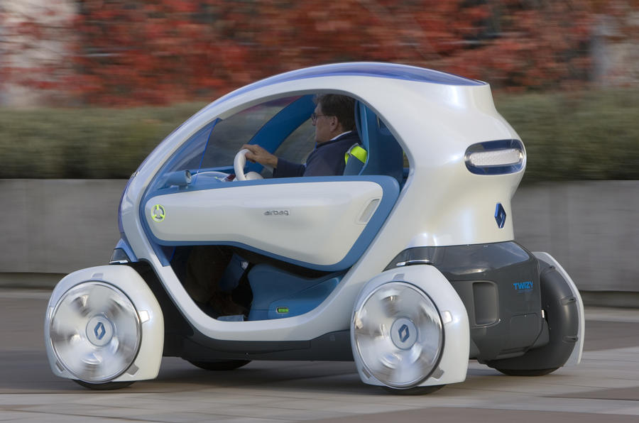 Renault Twizy won't go to Merc