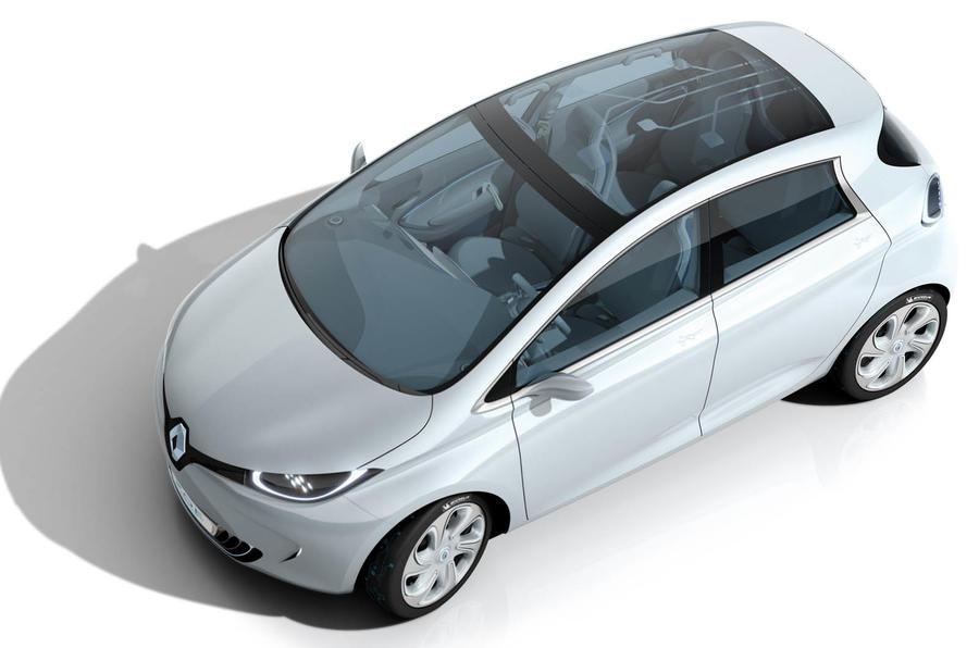 Paris motor show: Renault Zoe