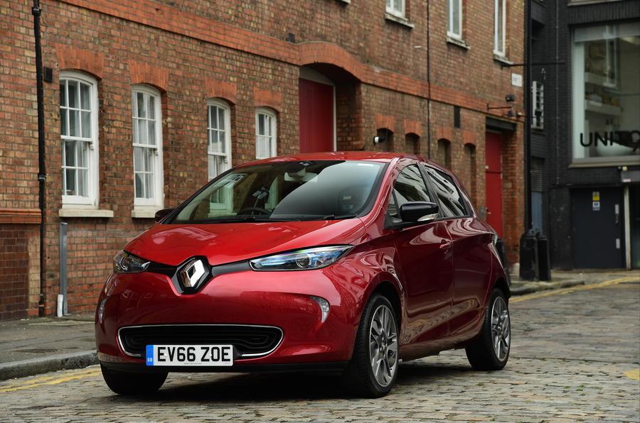3.5 star Renault Zoe
