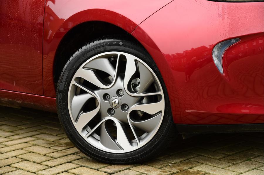 Renault Zoe alloy wheels