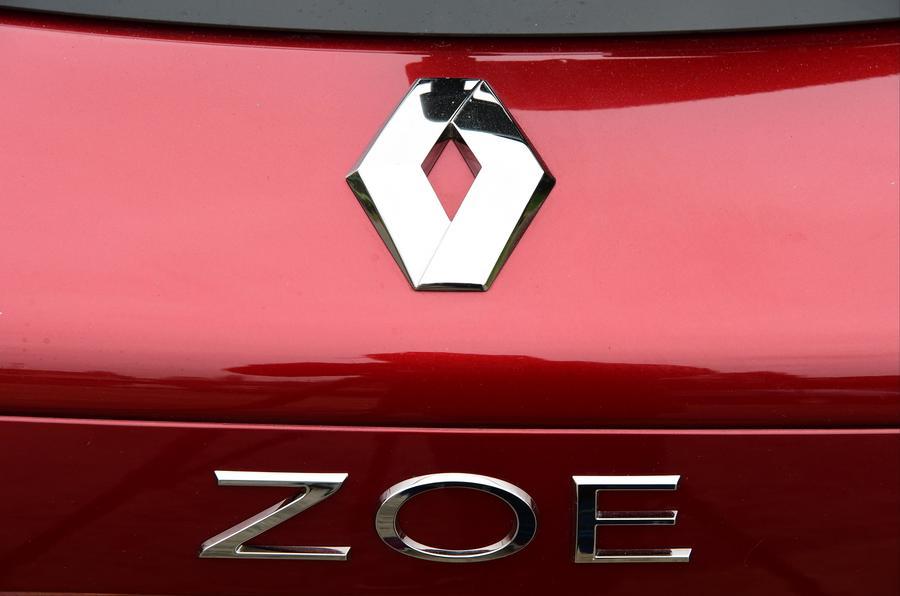 Renault Zoe badging