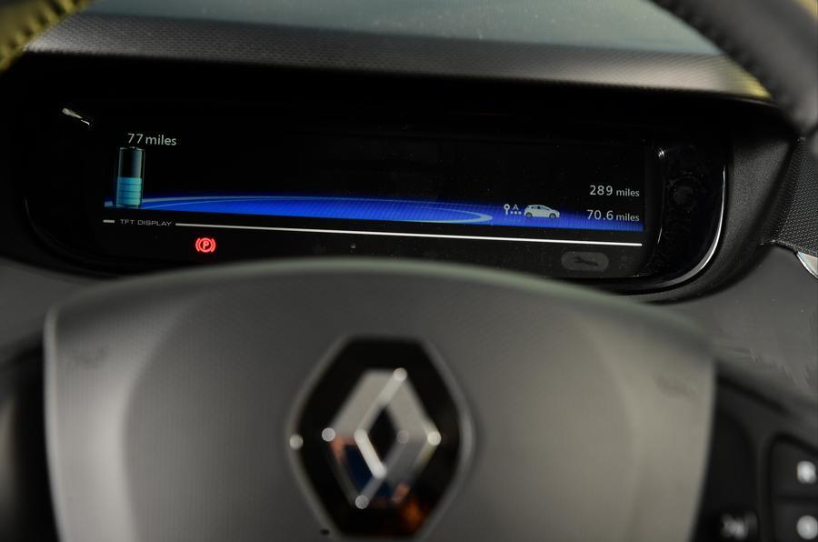 Renault Zoe instrument cluster