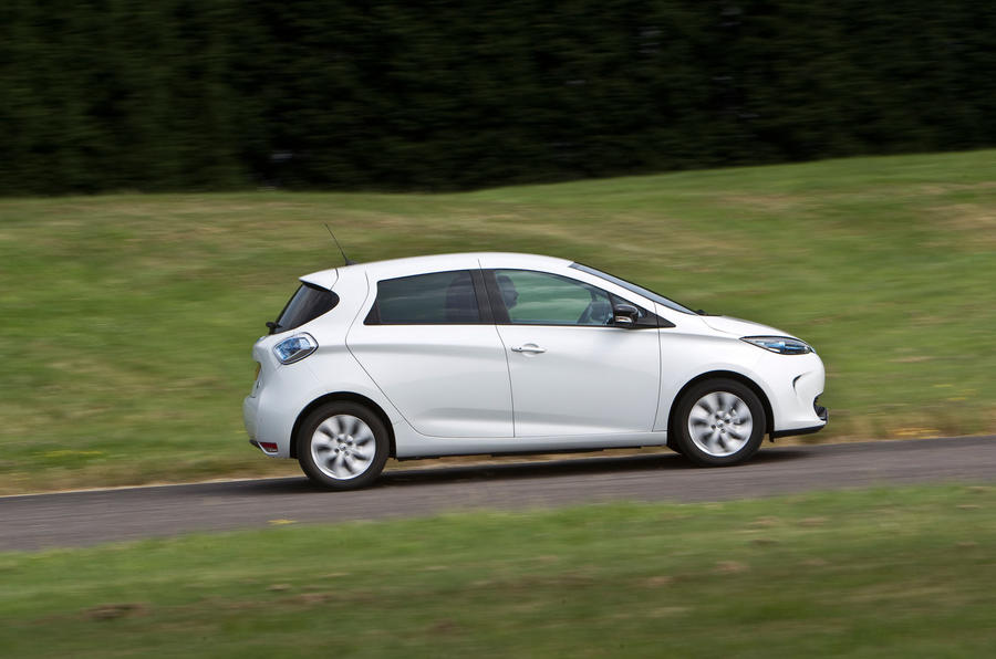Renault Zoe side profile