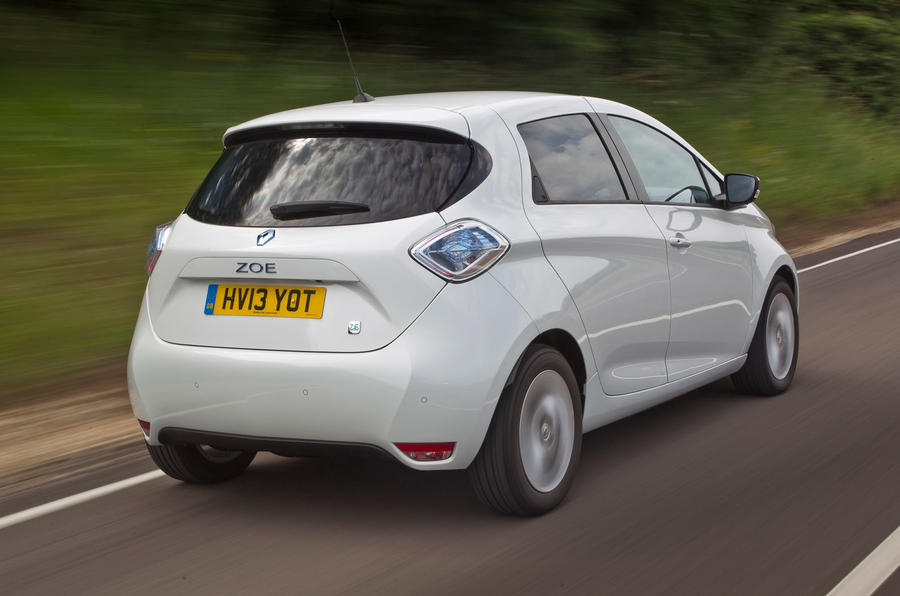 Renault Zoe rear quarter