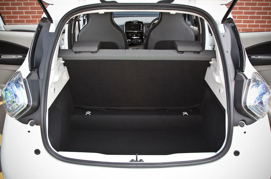 Renault Zoe boot space