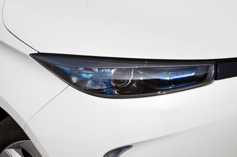 Renault Zoe headlights