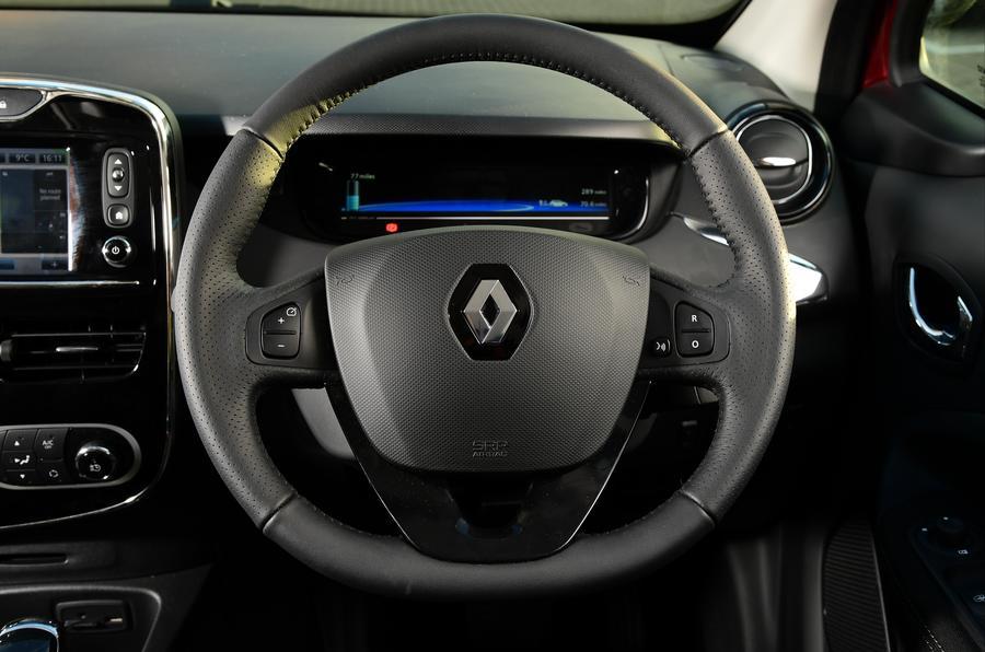 Renault Zoe steering wheel