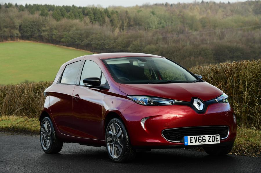 renault zoe review 2018 autocar. Black Bedroom Furniture Sets. Home Design Ideas