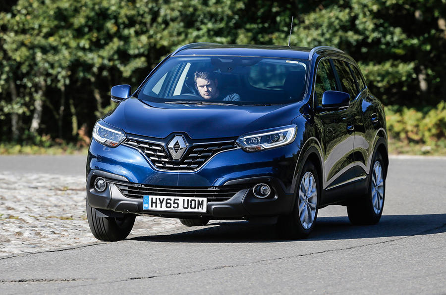 The Renault Kadjar rides with some compliance...
