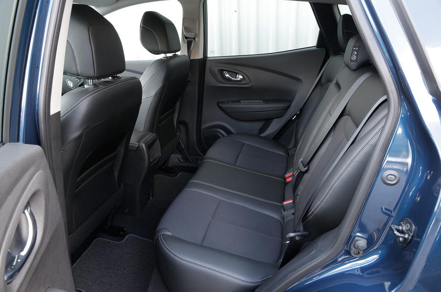 Renault Kadjar rear seats