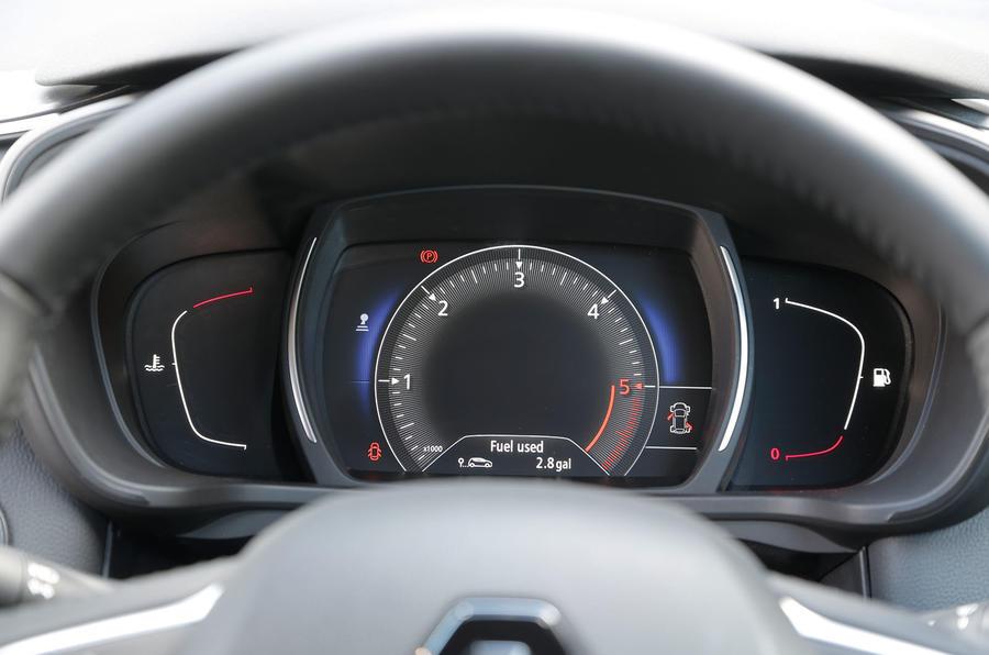 Renault Kadjar instrument cluster