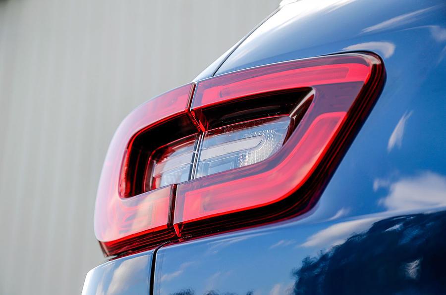 Renault Kadjar rear lights