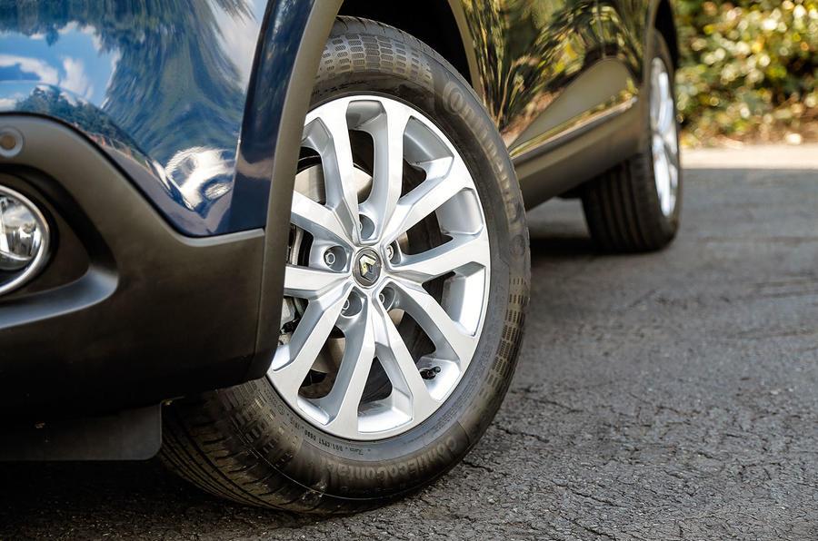 19in Renault Kadjar alloy wheels
