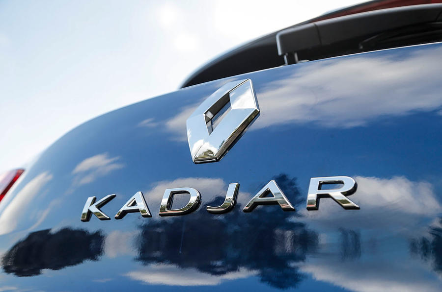 Reanult Kadjar rear badging