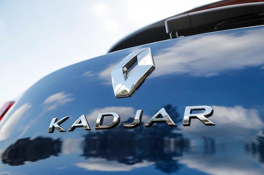 Reanult Kadjar rear badging