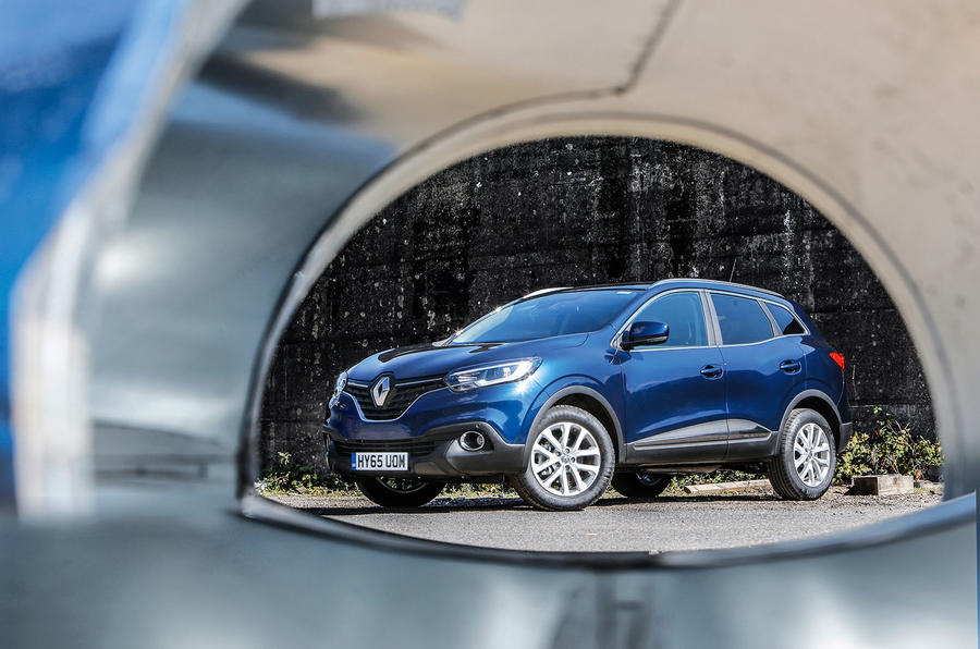 The 4 star wholly respectable Renault Kadjar crossover