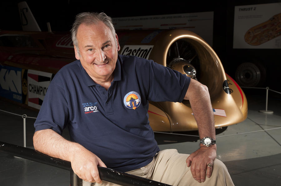 Richard Noble on 1000mph Bloodhound record attempt